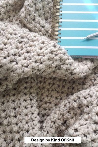 Morro Bay Crochet Blanket by Kind of Knit