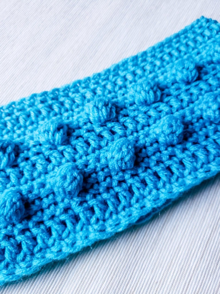 Pearls on the Beach Crochet Headband Pattern