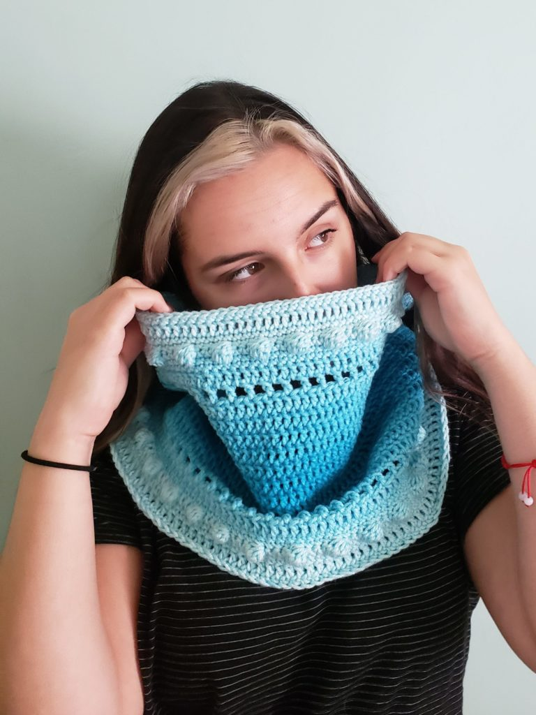 Kind Of Knit Malibu Cowl Free Crochet Pattern