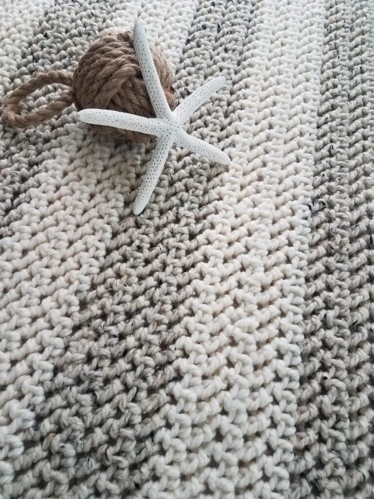 Presidio Chunky Lap Throw Crochet Pattern