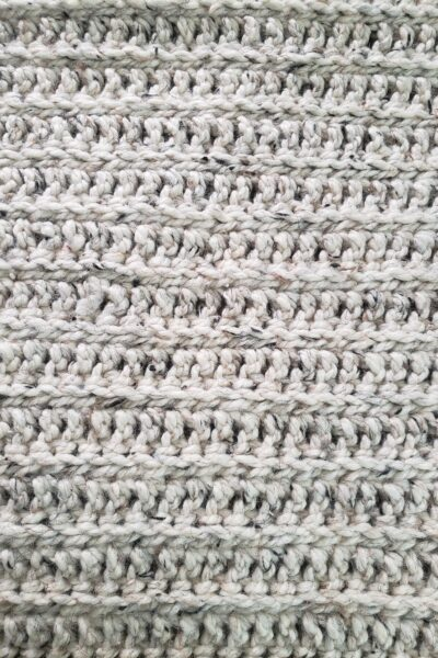 Moonstone Beach Crocheted Blanket by Kind Of Knit