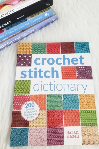 These 5 books are great for crocheting beginners and useful for a seasoned crocheter, no matter how you look at them, they are must-have crocheting stitch books.