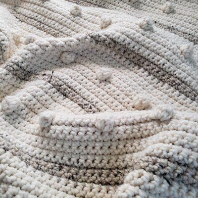 Fog Horn Single Crochet Blanket Pattern