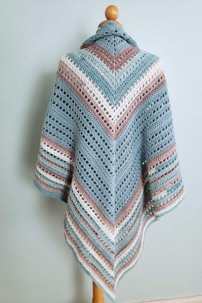 Seaside Shawl Crochet Pattern